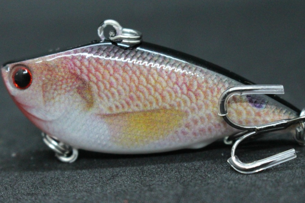 17 wLure Life Like Pattern Fishing Lure with Upgraded Treble Hooks 40