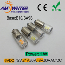 2017 New Arrival Time-limited Ce T4w E10 Ba9s Indicator Light T10 Car Bulbs 2835 4 Smd Instrument Lights Sourse