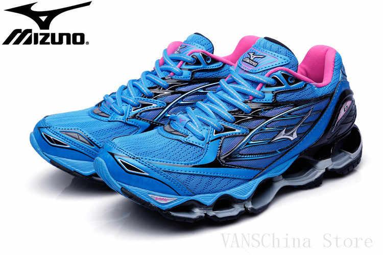 0823c52e9a00 Оригинальный Mizuno Wave Prophecy 6 спортивная женская обувь 5 цветов  Classic стабильный спортивные амортизацию Вес подъема