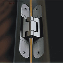 Free shipping d-adjustable concealed hinge cross concealed hinge door large concealed door folding door hinge(China)