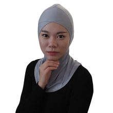 Muslim Hijab Underscarf Caps Ninja Islamic Head Coverings Turban Products Jersey Headscarf Full Cover Stretch Inner Scarf 2017