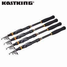 KastKing BlackHawk New Spinning Rod Super Hard Carbon Fishing Pole 1.8m/2.1m/2.4m/2.7m/3.0m/3.6m Lure Rod Fishing Telescopic Rod