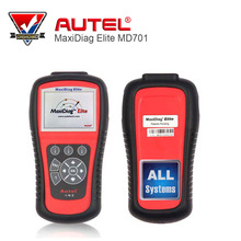 100% Original Autel MaxiDiag Elite MD701 All system + DS model OBDII auto code reader MD 701 for Japanese cars Free Shipping