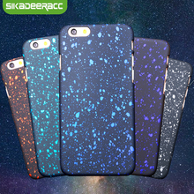 SE69 For iPhone 5s Phone Cases 3D Star Night PC Hard Back Covers For iPhone 6s 7 Plus Ultra Thin Shockproof Cases For iPhone 6(China)