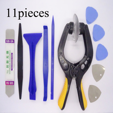 2017 hot selling 11 in 1 Mobile Phone Repair Tools Kit Spudger Pry Opening Tool LCD Repair Tools LCD Opening Pliers(China)