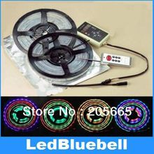 6803 IC Chip 5M 5050 RGB Dream Color 133 change LED Strip & RF Remote Controller