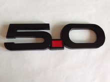 NEW 2015 Light Black Mustang GT 5.0  Fender Emblem Logo Badge - 20 pcs