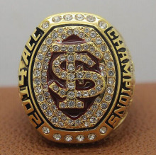 Bottom Price for Newest Design 2014 Florida State FSU Seminoles ACC NCAA National zinc alloy 18K gold plated Championship Ring
