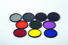Camera Lens Color Filter 37 40.5 43 46 49 52 55 58 62 67 72 77 82mm Red Orange Yellow Green Blue Purple ND2 4 8 16 Lens Filter