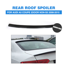 Carbon Fiber Rear Roof Window Spoiler Wing for Audi A5 Coupe 2Door Non-S5 Non-Sline 2008-2015