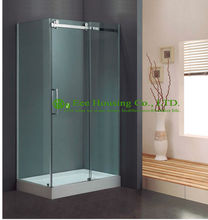 L-Shape Direct Factory Price Exceptional Quality Design Glass Luxury Shower Enclosures Sliding Doors(China)