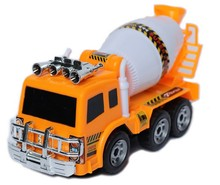Electric truck cement mixer concrete mixer truck universal music lights toys