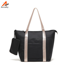 Women Shoulder Bags Folded Messenger Bag Dumplings Large Capacity Travel Tote Folding Handbags Bolsas Hobos Shopping Bag 45