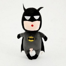 Cute Marvel Hero Batman Soft Baby Toys Cool Baby Developmental Musical Crib Mobiles Bed Cartoon Doll Kids Comfort Lathe Rattle(China)