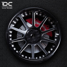 DC FOR 1/10 RC DRIFT CAR ALLOY WHEEL HUB +6 DEGREE TP TYPE - 4PCS/SET 90163
