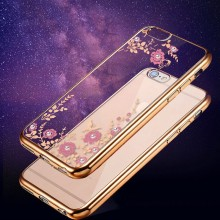 Buy Apple IPhone 8 Plus Case Luxury Fashion TPU Soft Silicon Diamond Crystal Glitter Phone Case Back Cover Shell 5.5 inch for $1.69 in AliExpress store
