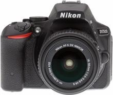New Nikon D5500 Digital SLR Camera Body with Nikon AF-S DX 18-55mm f/3.5-5.6G VR II Lens(Hong Kong)