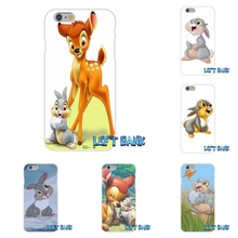 Bambi Thumper Soft Silicone TPU Transparent Phone Cover Case For Huawei G7 G8 P7 P8 P9 Lite Honor 4C Mate 7 8 Y5II