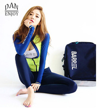 Female Wetsuit 2017 Korea Style Surf Suit Full Body Swimwear Surf Protect Dry Suit Dive Skin Suit Wet Suit For Swimming T028