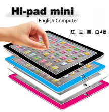 Y-Pad mini English Computer Learning Hi-pad mini Touch Tablet Kid learning & reading Toy Baby YPat Educational Toys for Children