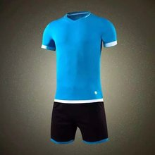 2016  Jersey sportswear running jogging training sets soccer kits jersey football team Jersey polo shirt