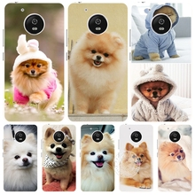 dogs perro pomeranian puppy cute case cover for For Motorola Moto G5 G4 PLAY PLUS zuk z2 BQ M5.0
