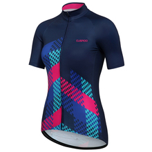 CUSROO 2017 new women's short-sleeve cycling jersey custom made  girl summer bike clothing lady sports cycling clothing