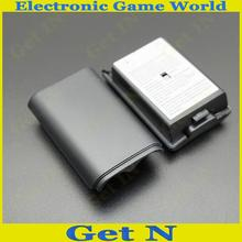 Battery Cover Shell case for Xbox360 Wireless Controller Black Free Shipping