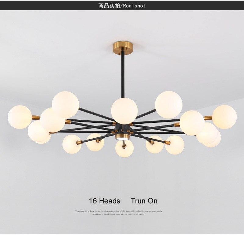 Nordic Modern Molecular Magic Bean Branch Pendant Lights Italian LED Hanging Lamp for Dining Room Kitchen living room bar Lighting 02