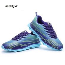 AREQW Men Shoes 2017 Fashion New Colorful Unisex Camouflage Casual Shoes Breathable Air Casual Shoes Mens Footwear(China)