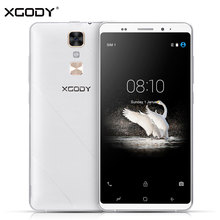 XGODY D17 Smartphone Android 5.1 5.5 Inch RAM 1GB ROM 16GB Quad Core GPS 8MP 2SIM WIFI Telefone Celular 3G Touch Android Phones(China)