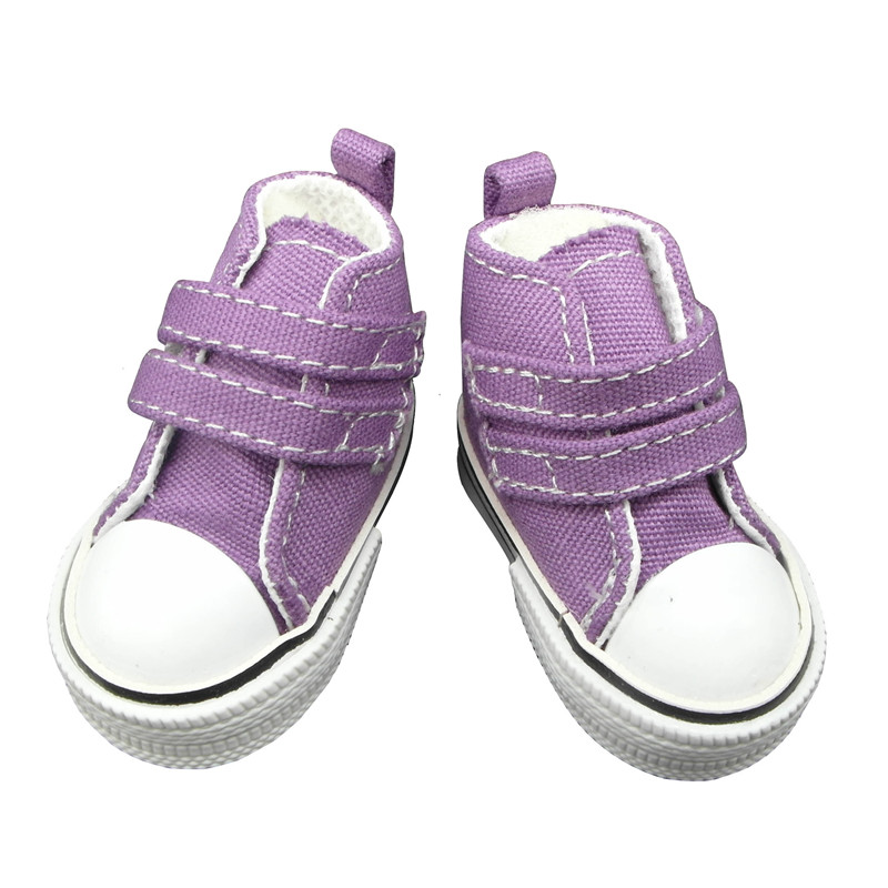 doll shoes purple