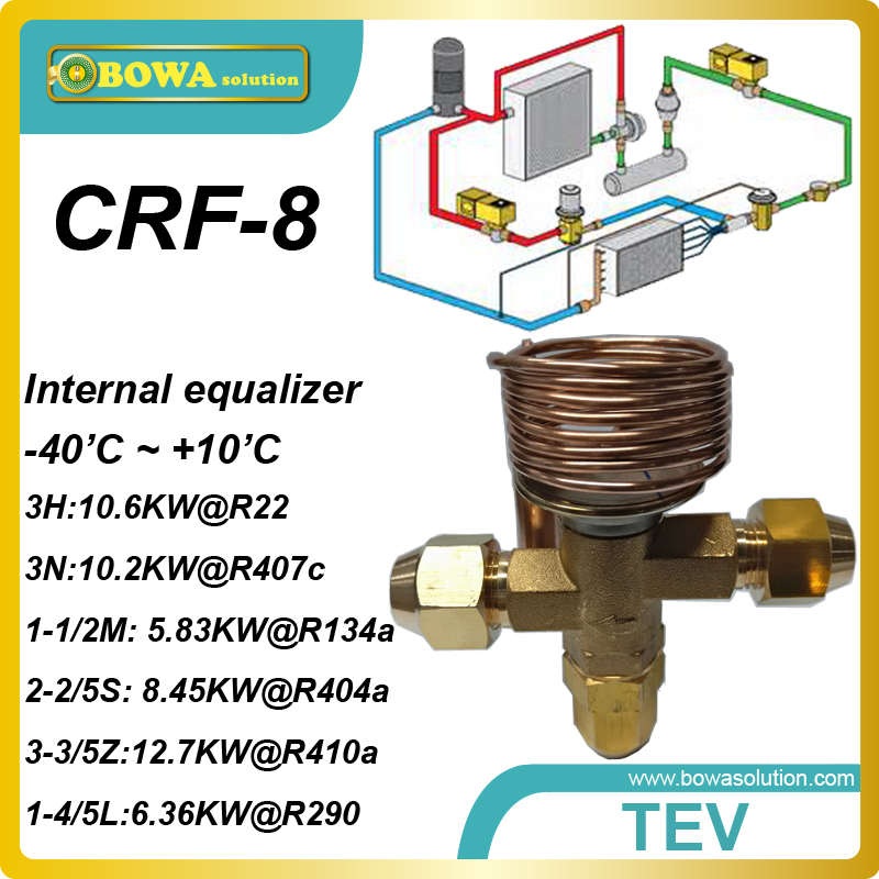 CRF-8 R407c 3 cooling ton internal TVX with SAE flare connection designed for a wide range of temperature machine applications.<br><br>Aliexpress