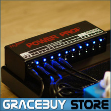 Guitar Effect Pedals Board Power Supply 10 Isolated Outputs (8 Way DC 9V & 1 Way DC 12V & 1 Way 18V) Voltage Protection New(China)