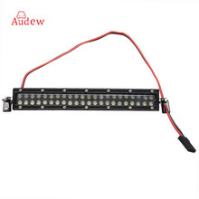 1Pcs 44LED 1:10 Scale RC Car Crawler Accessories Super Bright Roof LED Light  Working Light