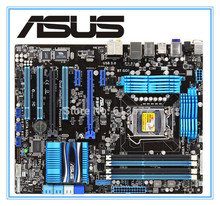 Free shipping original motherboard ASUS P8P67 LGA 1155 DDR3 for I3 I5 I7 32nm USB2.0 USB3.0 SATA3.0   desktop motherboard
