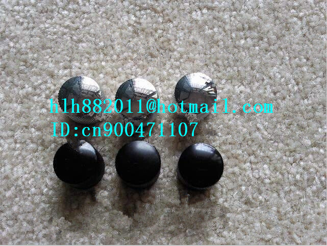 free shipping new electric guitar and bass 3  tone and  volume metal electronic Control Knobs cap    DM-8017<br><br>Aliexpress