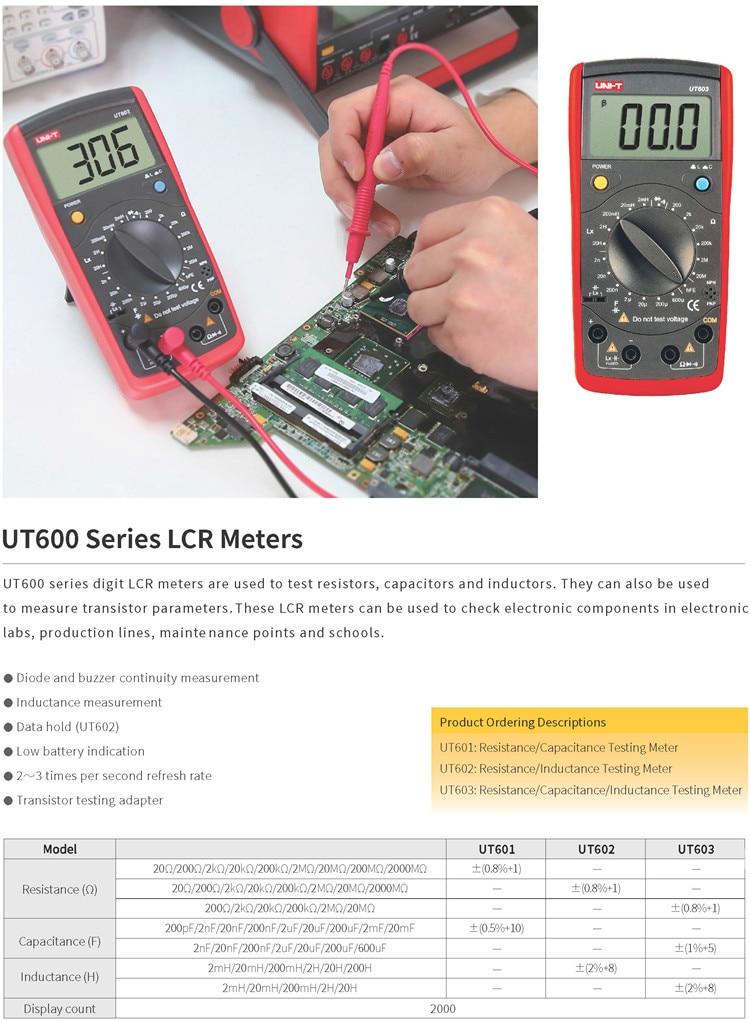UT601 602 603