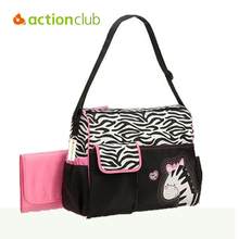 Actionclub Retail Fashion Multifunctional Nappy Mummy Bag Maternity Handbag Diaper Bags Baby Tote Organizer Hot Sale HK171