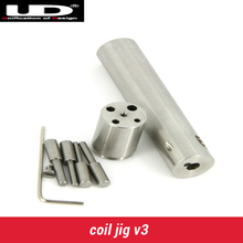 UD Wire Coiling Tool Youde Silic Pre-made Welded Wires Vaping Coil Winding Jig Tool Coiljig rda coil jig