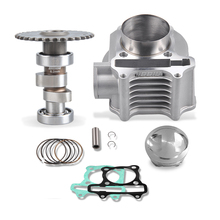 NIBBI Engine Upgrade Parts Cylinder 58.5mm 6.2mm Camshaft for GY6  Scooter 150cc 125CC 152QMI 157QMJ
