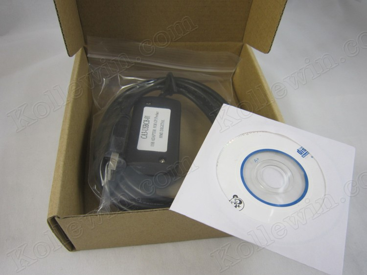 FreeShip Data Transfer Cable CA3-USBCB-01, GP3000,ST3000(W),LT3000 etc series HMI programming cable CA3-USBCB01 New in box<br>