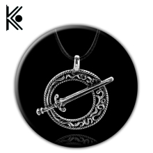 Dark Souls III Blade of the Darkmoon Pendant - Dark Souls 3 - Covenant Dark Souls Necklace Dark Souls 3 Sword pendant