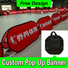 Free Design Free Shipping Horizontal A Frame Banner Outdoor Pop Up Banners A Frame Pop Up Banner(China)