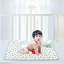 1PCS RETAIL 3SIZE Portable Urine Mat Waterproof Baby Infant Bedding Changing Nappy Cover Pad New AQW8747
