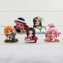 One Piece Figure Sexy Boa Hancock Nami Robin Shyarly Keim PVC Mini Cute Sexy Action Figure Toy