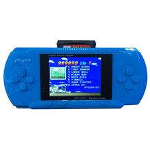 Portable Handheld game player 8 Bit 2.5 inch PVP LCD Screen Digital Pocket Game Console game player with Game Card