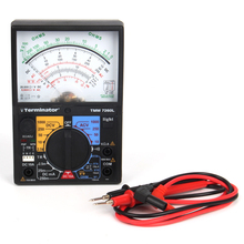 7260L High-accuracy high sensitivity pointer ohm meter analog multimeter testing with light(China)