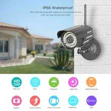 Sricam SP013 HD 720P IP Camera Infrared Wireless Security CCTV Camera H.264 WIFI Night Vision Motion Detection IR LED Len Onvif(China)