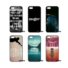 For iPhone X 4S 5 5C SE 6 6S 7 8 Plus Samsung Galaxy Grand Core Prime Alpha John Cooper Skillet Rock Print Cell Phone Case(China)